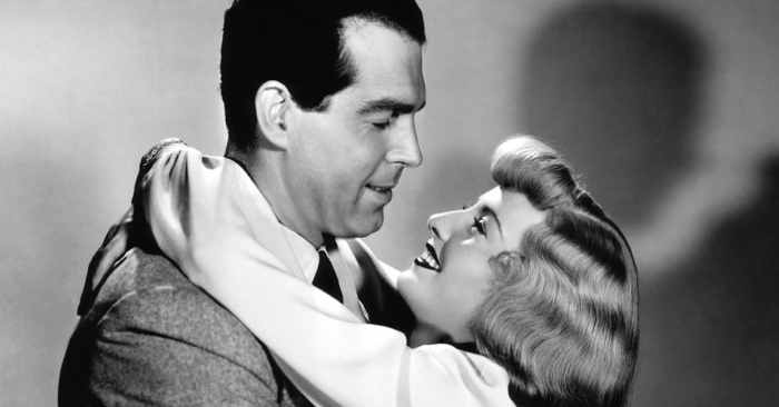 Fred MacMurray, Barbara Stanwyck in Double Indemnity