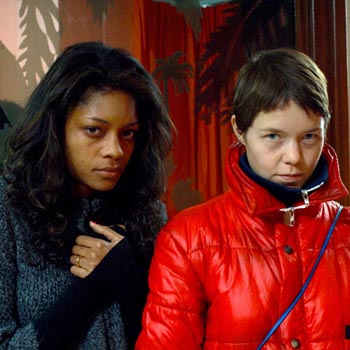 Naomie Harris and Anna Maxwell Martin
