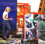 Painter Amadea Bailey: Making Order Out of Chaos
