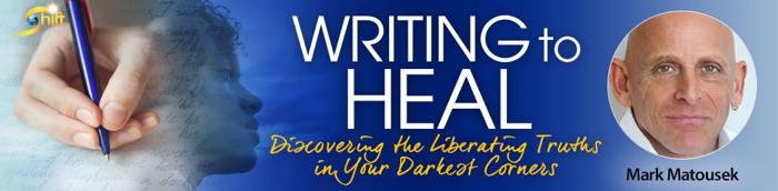 Writing to Heal course