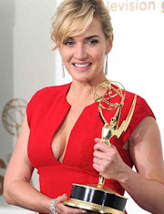 Kate Winslet with Emmy