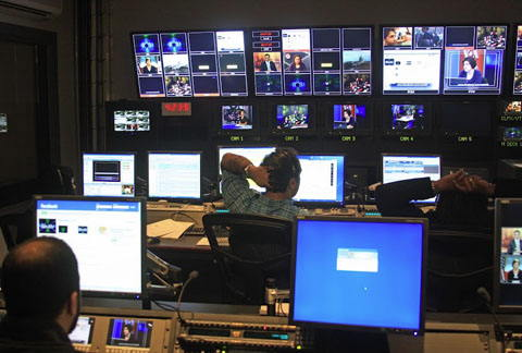 TV production control room