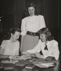 Radcliffe students 1948