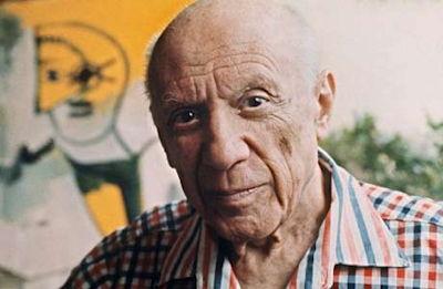 Picasso in 1971 by Ralph Gatti