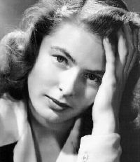 """I was the shyest human ever..."" - Ingrid Bergman"
