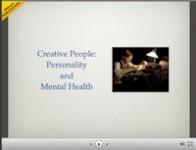 Creative People and Madness [Slideshare presentation]