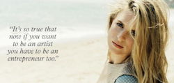 "Brit Marling: ""A pull between art and commerce"""