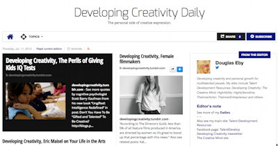 Developing Creativity Daily