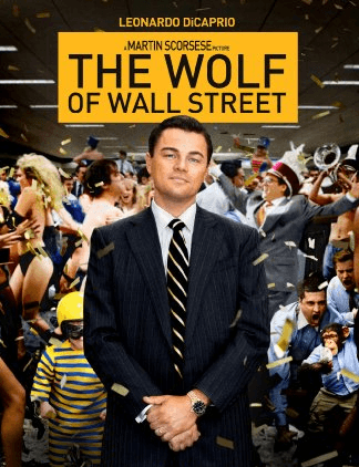 Poster for The Wolf of Wall Street, 2013