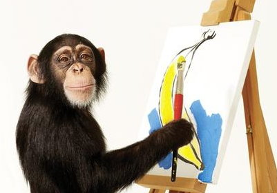 monkey-painter