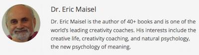 Eric Maisel-entheos-bio