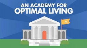 The en*theos Academy for Optimal Living: daily classes on reaching your potential.