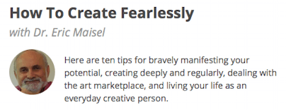 How to Create Fearlessly class