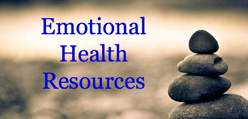 Emotional Health Resources: Programs, books, articles and sites