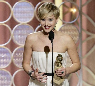 Jennifer Lawrence GoldenGlobes2014