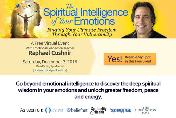 The Spiritual Intelligence of Your Emotions