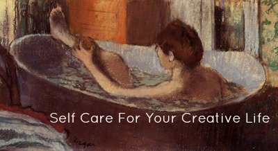 Woman in Bath-Degas-text
