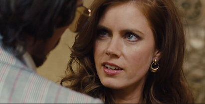 Amy Adams with Christian Bale in American Hustle
