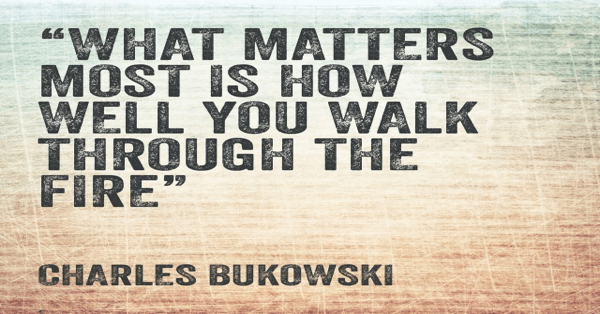 Charles Bukowski - What Matters Most
