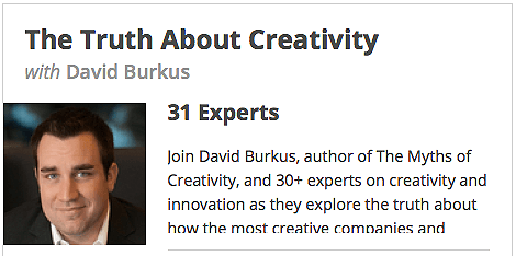 The Truth About Creativity conference
