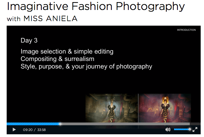 Imaginative Fashion Photography course
