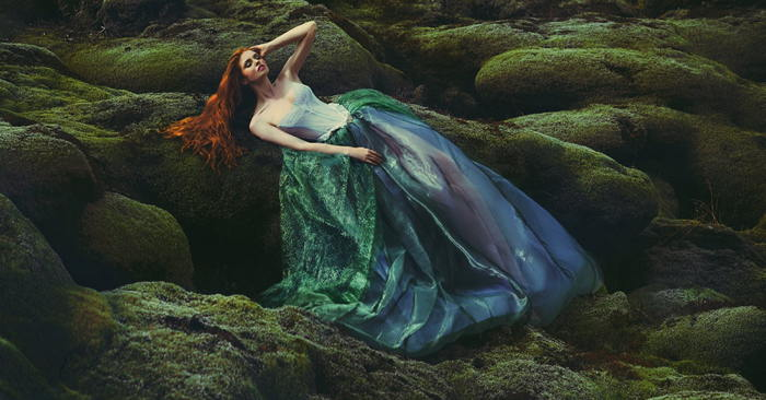 Bedrock by Miss Aniela shot in Iceland