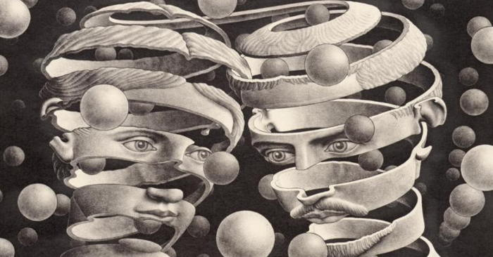 Bond of Union by M.C. Escher