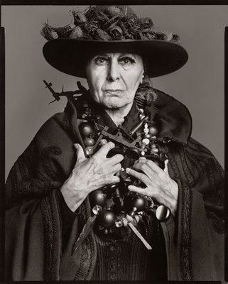 Louise Nevelson by Richard Avedon