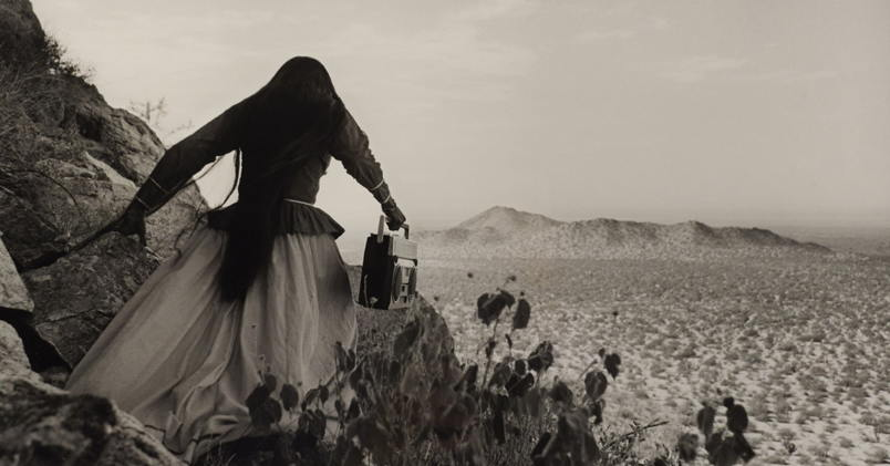 "Mujer angel"" (Angel woman) by Graciela Iturbide"