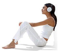 Holosync meditator