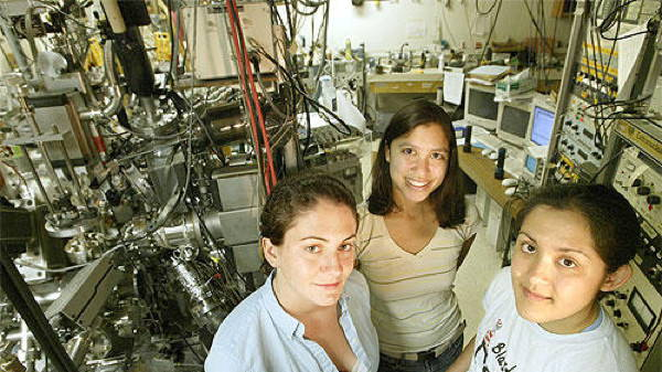 Caltech female chemical engineering students of 2005