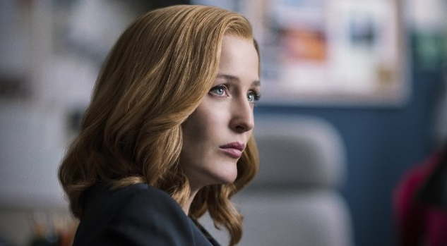 Gillian Anderson in The X-Files (2016)