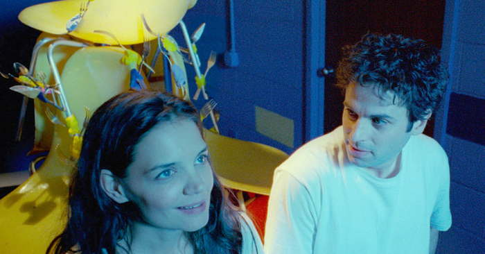 Katie Holmes and Luke Kirby in Touched With Fire