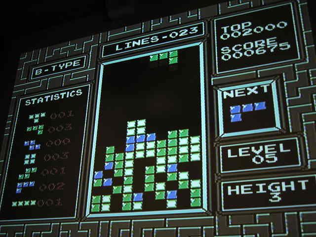 Basel 016 Nintendo Tetris by Marius Watz