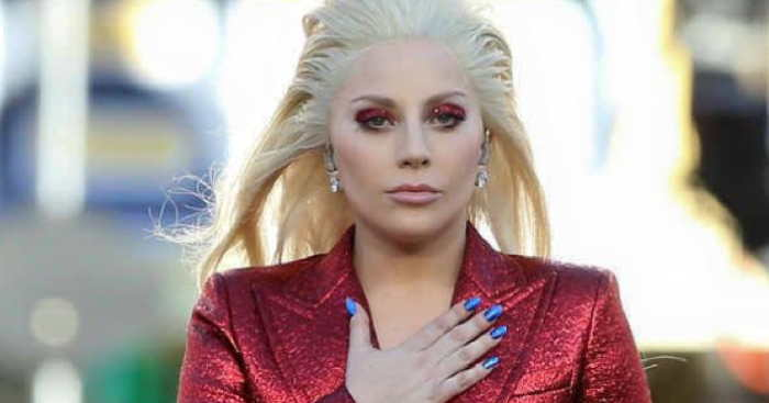 Lady Gaga at Superbowl 2016