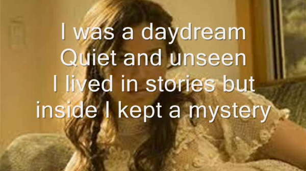 Mandy Moore quote-daydream