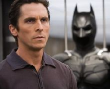 Christian Bale starring as Batman