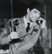 Cary Grant in His Girl Friday, 1940