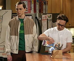 Jim Parsons, Johnny Galecki of tv series The Big Bang Theory