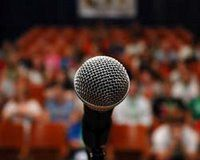 Dealing with stage fright or a fear of public speaking